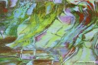Úplet s abstraktním potiskem