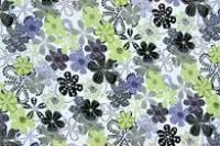 Geometrický květinový vzor › Úplet ‹