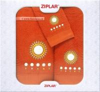 Dárkové balení 3 kusů kvalitních bavlněných ručníků
